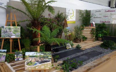 Notre stand «Nature» sur le salon de l'Habitat